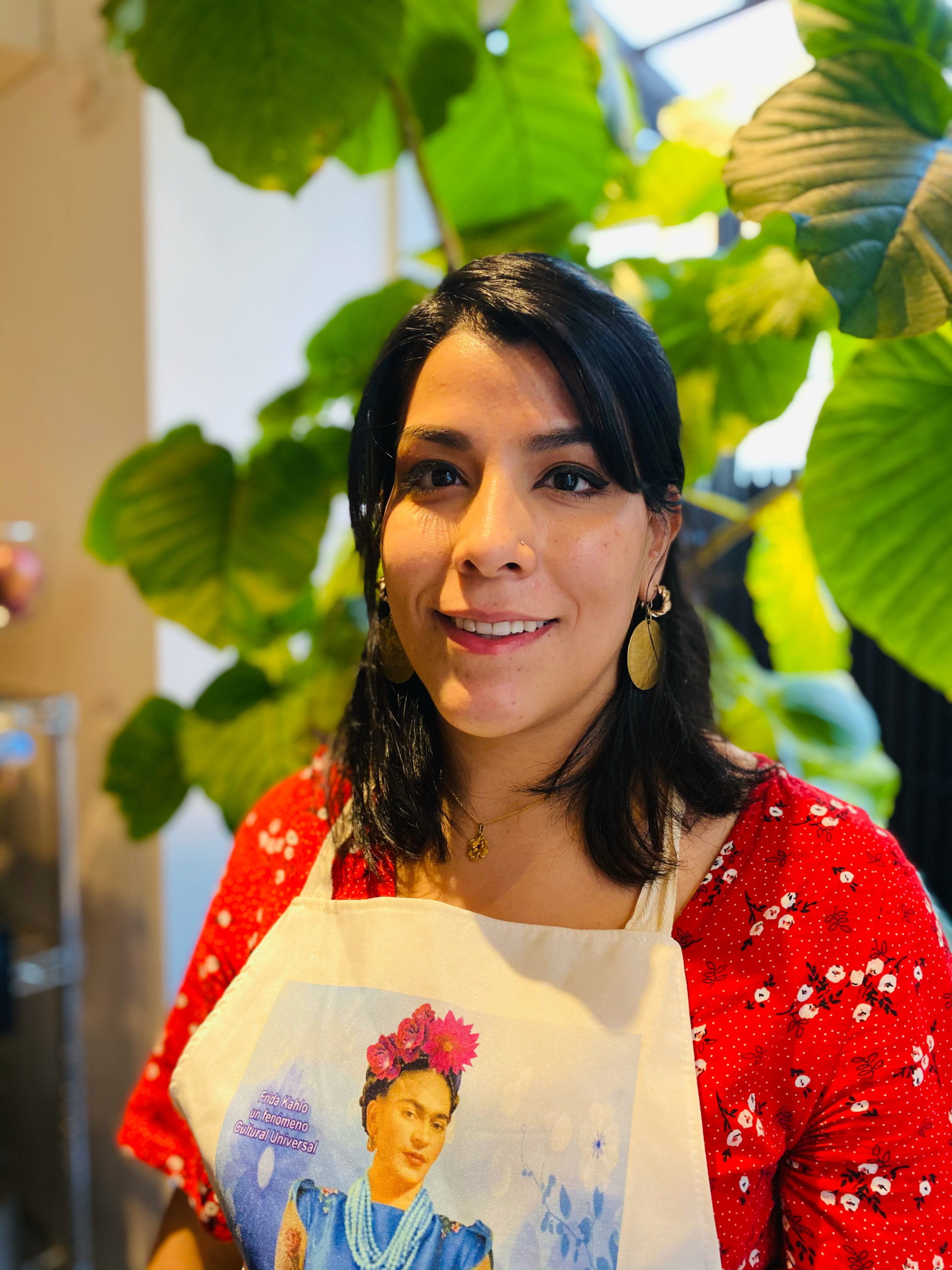 Vanessa in Tokyo, Nippon Viajero cooking instructor. Mexican Cooking Classes in Tokyo, Japan.